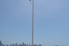 Alcatraz flaga USA