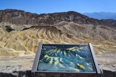 Dolina Śmierci - Zabriskie Point 1