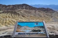 Dolina Śmierci - Zabriskie Point 2